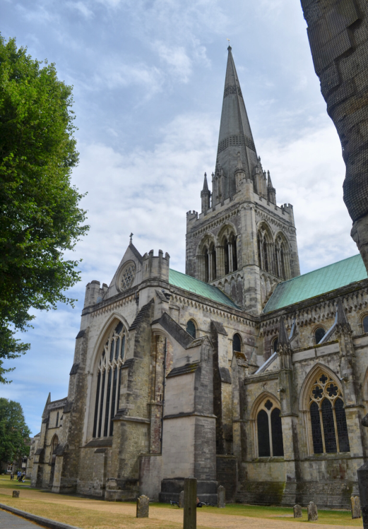 Chichester Cathedral from the North West