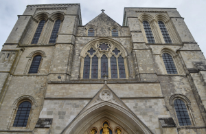 The West Front of Chichester Cathedral