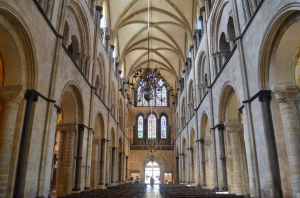 The Nave of Chichester Cathedral, looking West