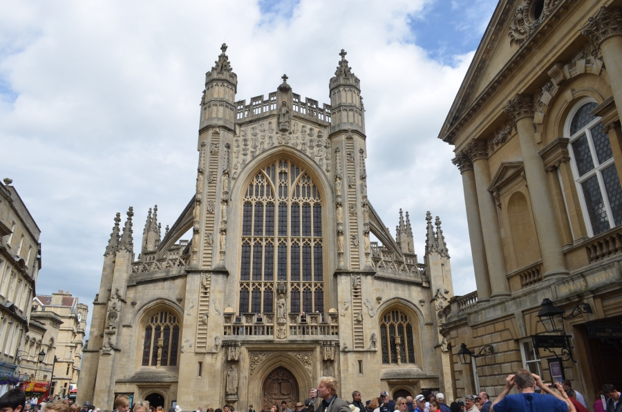 West Front of Bath Abbey